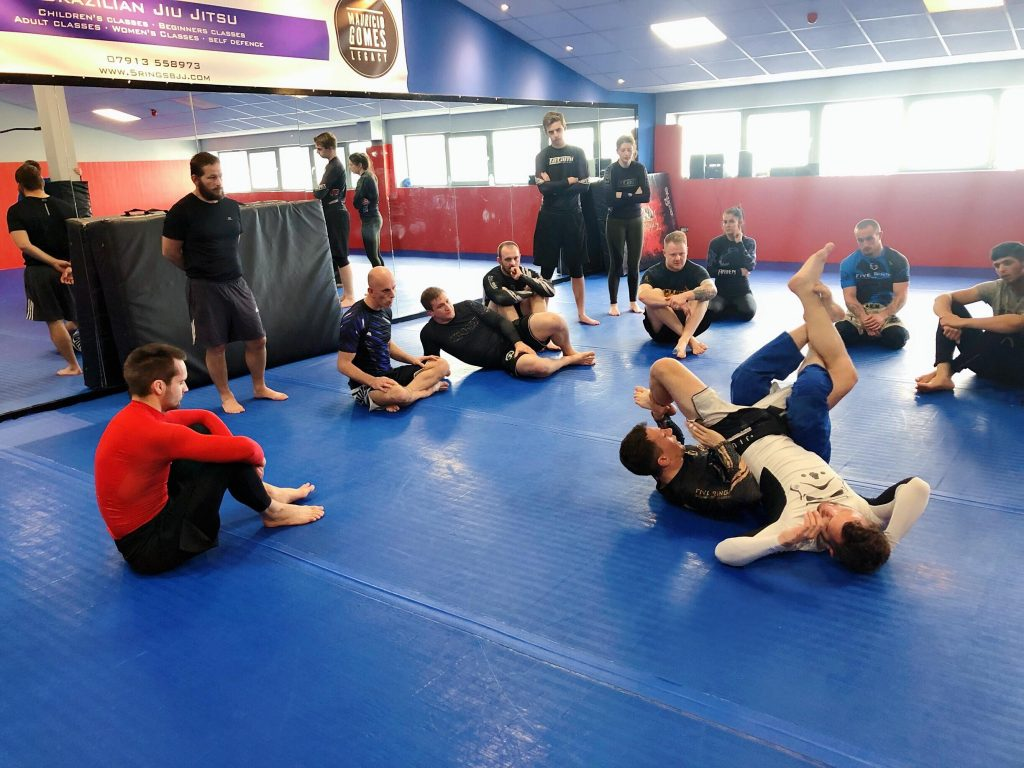 No Gi Submission Wrestling class in Sheffield