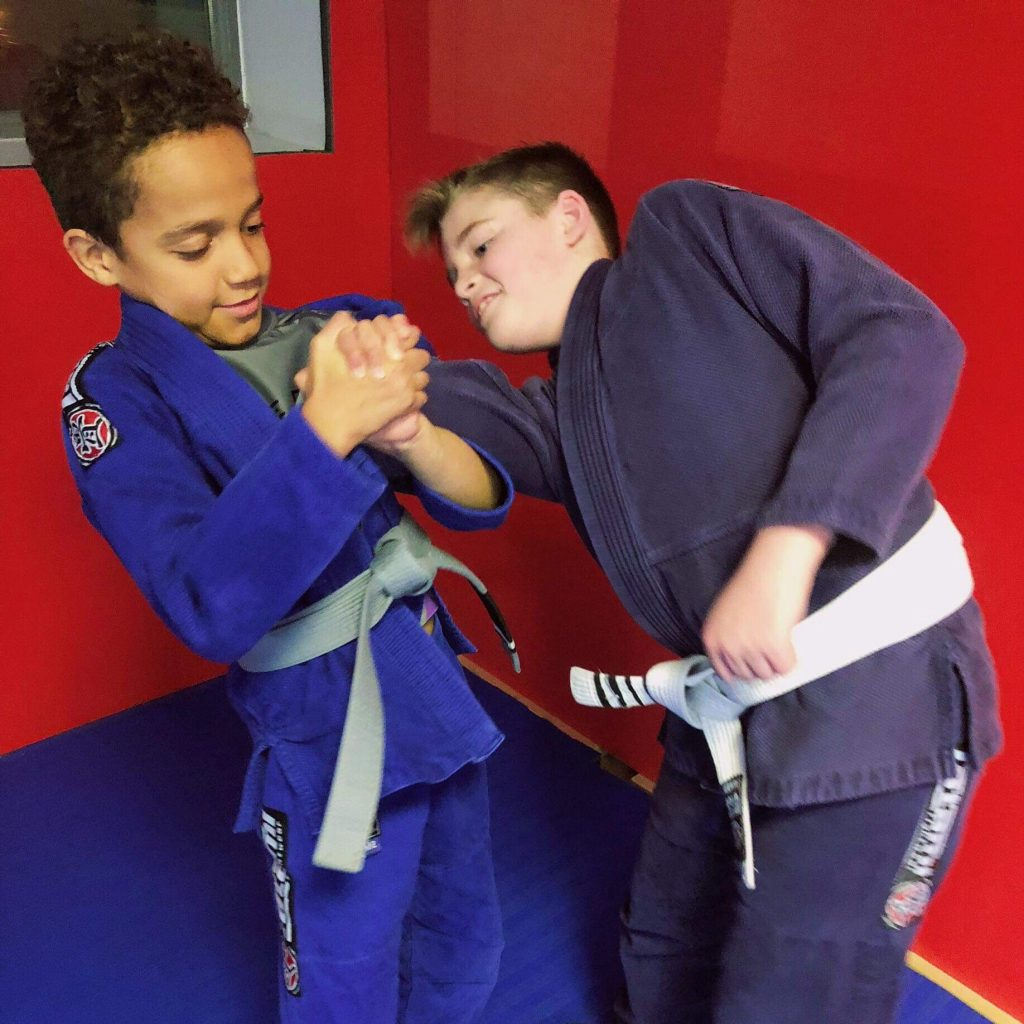 Sheffield BJJ Classes for Children with Five Rings Grappling Academy