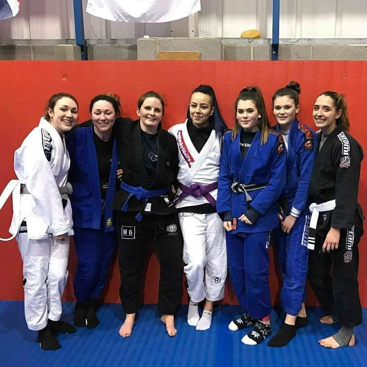 Maia Holmes Purple Belt Sheffield