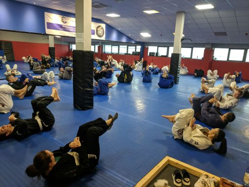 Fundamentals classes in Sheffield Five Rings Grappling Academy