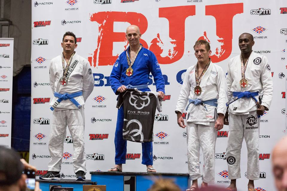 Five Rings BJJ Mansfield and Sheffield BJJ Grappling Academy Help Produce Yet Another British Champion