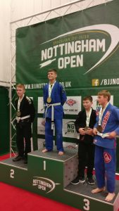George Foster Nottingham Open BJJ Gold