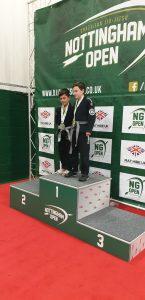 Marley Game Nottingham Open Silver medal